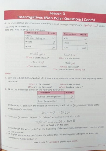 Arabic A Step by Step Guide, Part 2 Hashim Muhammad
