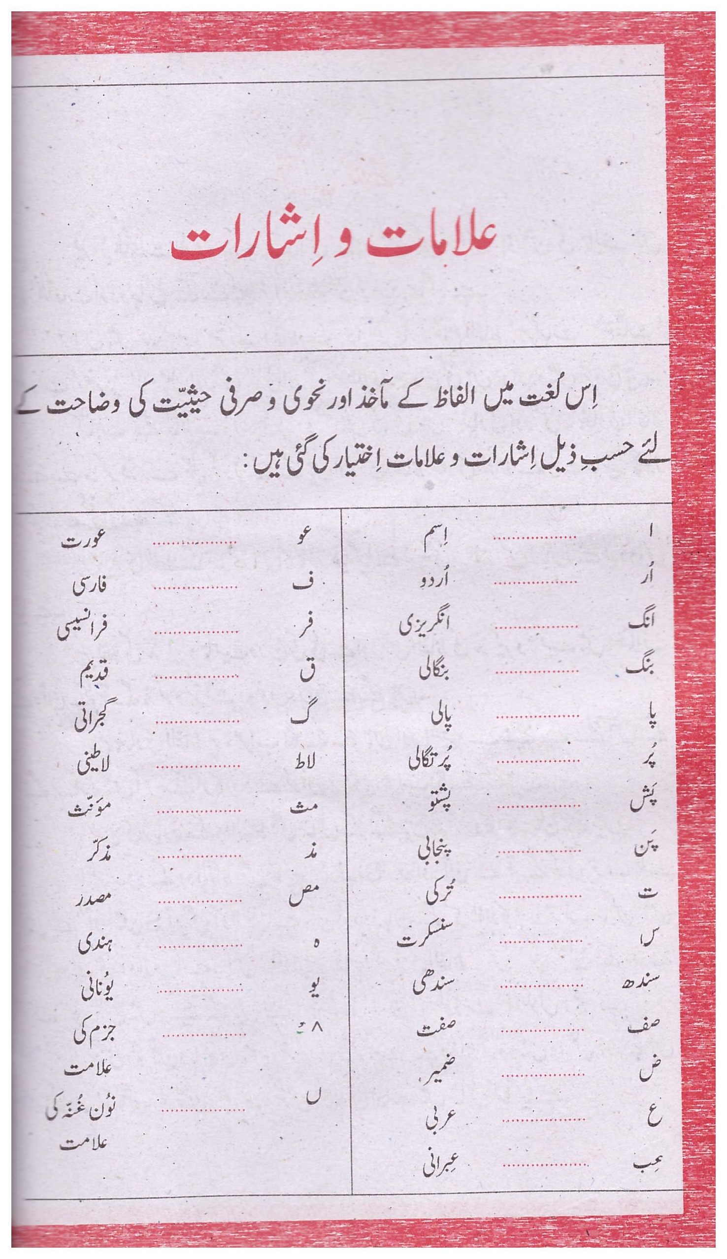 Rangeen Firoz ul Lughat Urdu Jadeed