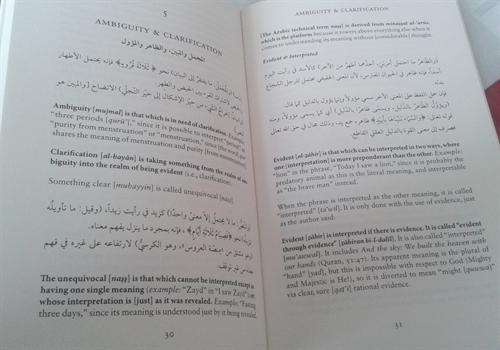 Sharh Al-Waraqat: Al-Mahalli's Notes On Al-Juwayni's