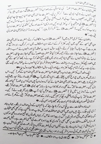 Seerat-E-Aisha (RA) By Syed Sulaiman Nadwi: Urdu Book