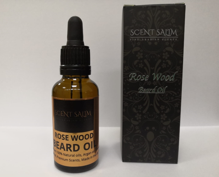Beard Oil, Rose Wood 30ml Scent Salim