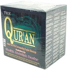 The Qur'an Recitation & Corresponding English 38 CD Set Sheikh