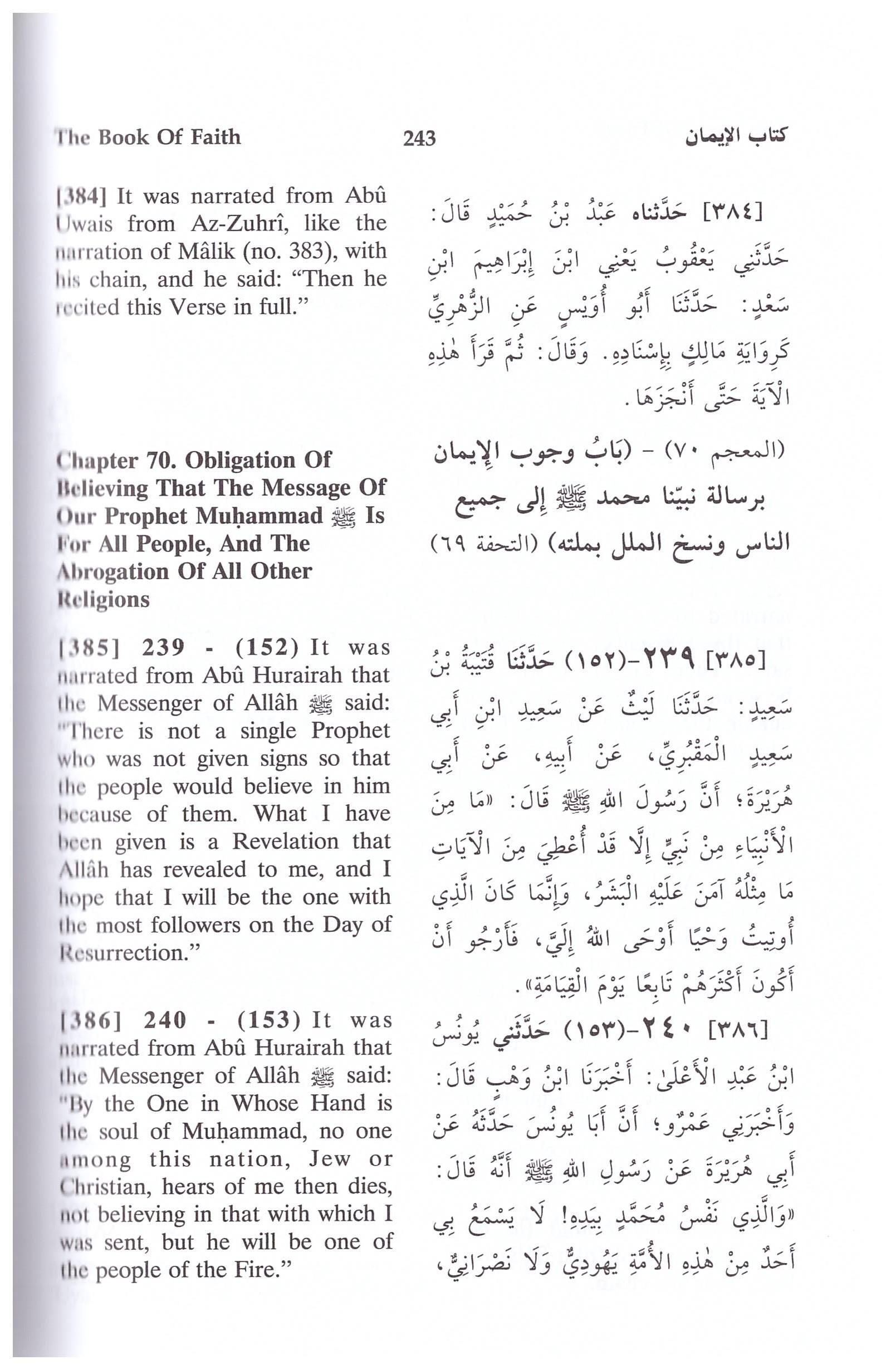 Sahih Muslim Arabic - English 7 Vols Darussalam, Nasiruddin