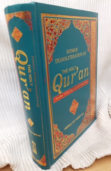 Holy Qur'an, The Arabic-Transliteration-English A Yusuf Ali